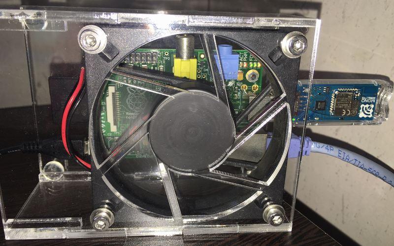IoTマイコン温湿度計